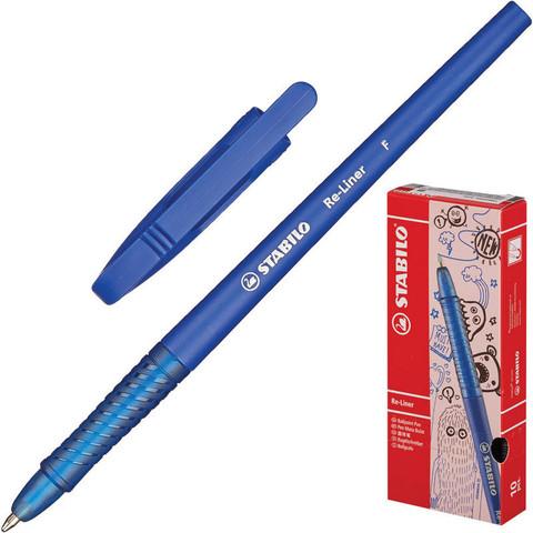 Ручка шариковая Stabilo Re-Liner 868/1-41 синяя (толщина линии 0.38 мм)