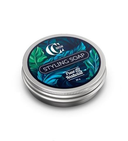 Мыло для укладки бровей со щеточкой Styling Soap, True&Natural, CC Brow, 35 г