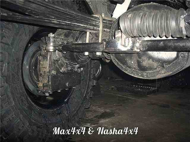 Изготовление редукторных мостов на основе ГАЗ Спайсер