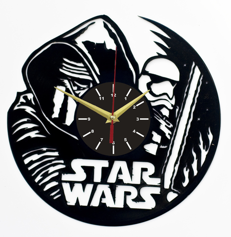 Звездные войны Часы из Пластинки — Кайло Рен