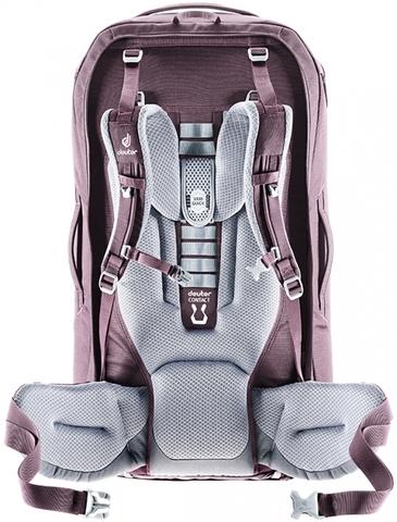 Картинка рюкзак для путешествий Deuter Aviant Access Pro 55 SL maron-aubergine - 2
