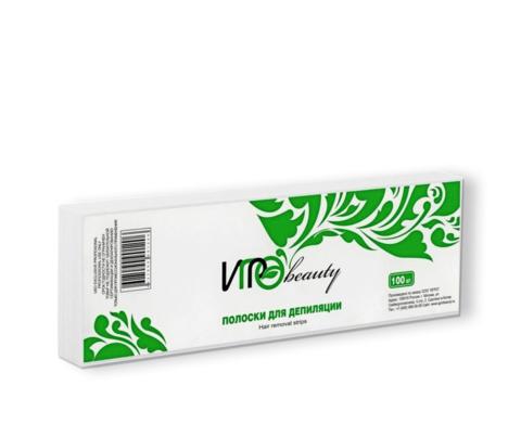 IGRObeauty, полоски для депиляции, 50 шт. (7 x 22 см)