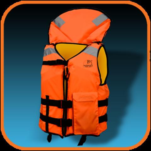 Жилет спасательный Круиз, размер L (100-104), оранжевый