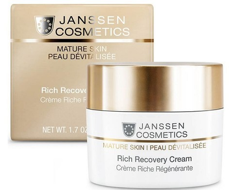 JANSSEN COSMETICS Обогащенный anti-age регенерирующий крем | Rich Recovery Cream