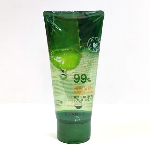 Гель с алоэ универсальный увлажняющий Jeju Fresh Aloe Soothing Gel 99%