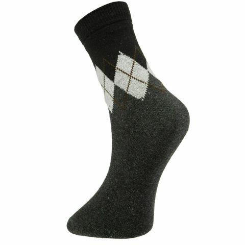 Мужские носки темно-серые ROMEO ROSSI с шерстью 8045-4