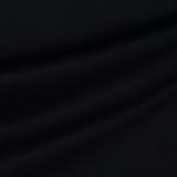 Лёгкая хлопковая рогожка чёрного цвета