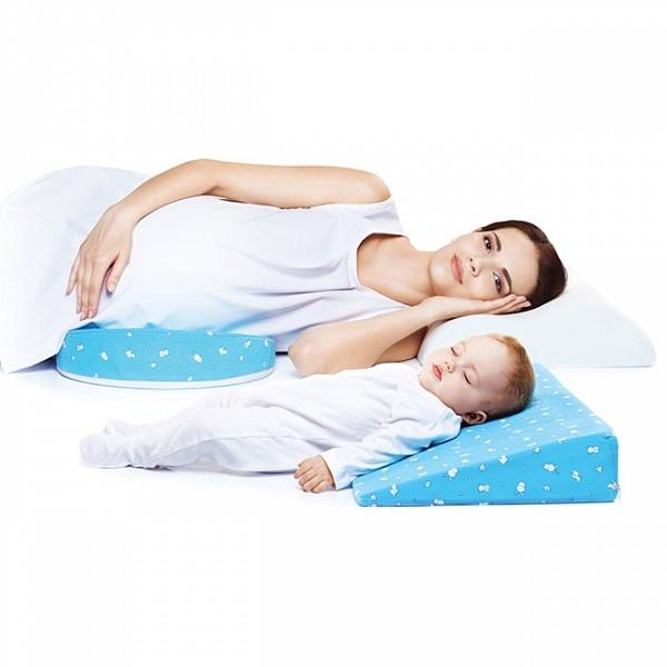 Подушки TRELAX Ортопедическая подушка-трансформер для беременных и младенцев 2-в-1 TRELAX CLIN П31.jpg