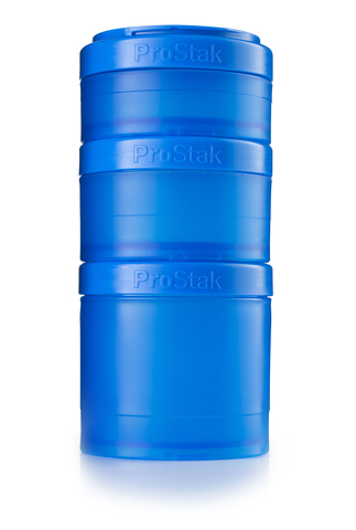 BlenderBottle ProStak Expansion Pak, 3+1 Контейнеры для еды и добавок + таблетница. 250мл 150мл 100мл