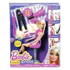 Игровой набор с куклой Барби Татуировки для волос