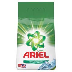 Порошок стиральный ARIEL автомат Горный родник 3кг д/белого белья (Т)