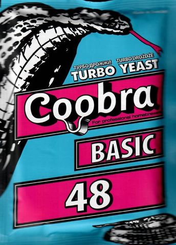 Дрожжи спиртовые Coobra Turbo 48 Basic