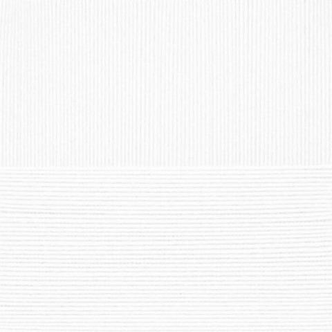 Пряжа Элитная Пехорка 01 Белая