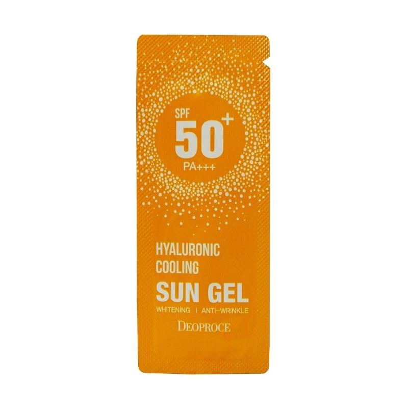 Deoproce Гель для тела DEOPROCE солнцезащитный гиалуроновый hyaluronic cooling sun gel spf 50+++(пробник) solncezasshitnyj-gel-hyaluronic-cooling-sun-gel-spf50-deoproce.jpg
