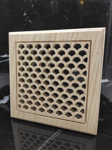 Решетка декоративная деревянная на магнитах Пересвет К-16 200х200мм