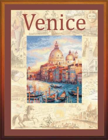 Набор для вышивания крестом «Города мира. Венеция» (0030 РТ)