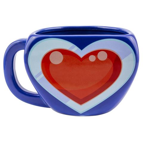 Кружка 3D The Legend of Zelda Heart Container Mug PP4928NN
