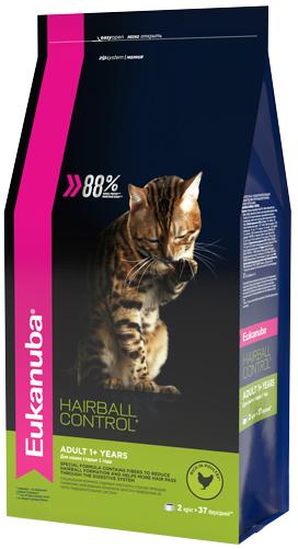 Eukanuba Корм для взрослых кошек, Eukanuba Cat Hairball, для вывода шерсти из желудка с домашней птицей 16c0639f-73e9-11e5-80d6-00155d298300.jpg