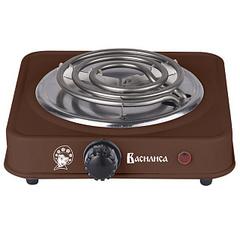 Плита электрическая 1000 Вт настольная 1-конфорочная ВАСИЛИСА ВА-901 коричневая