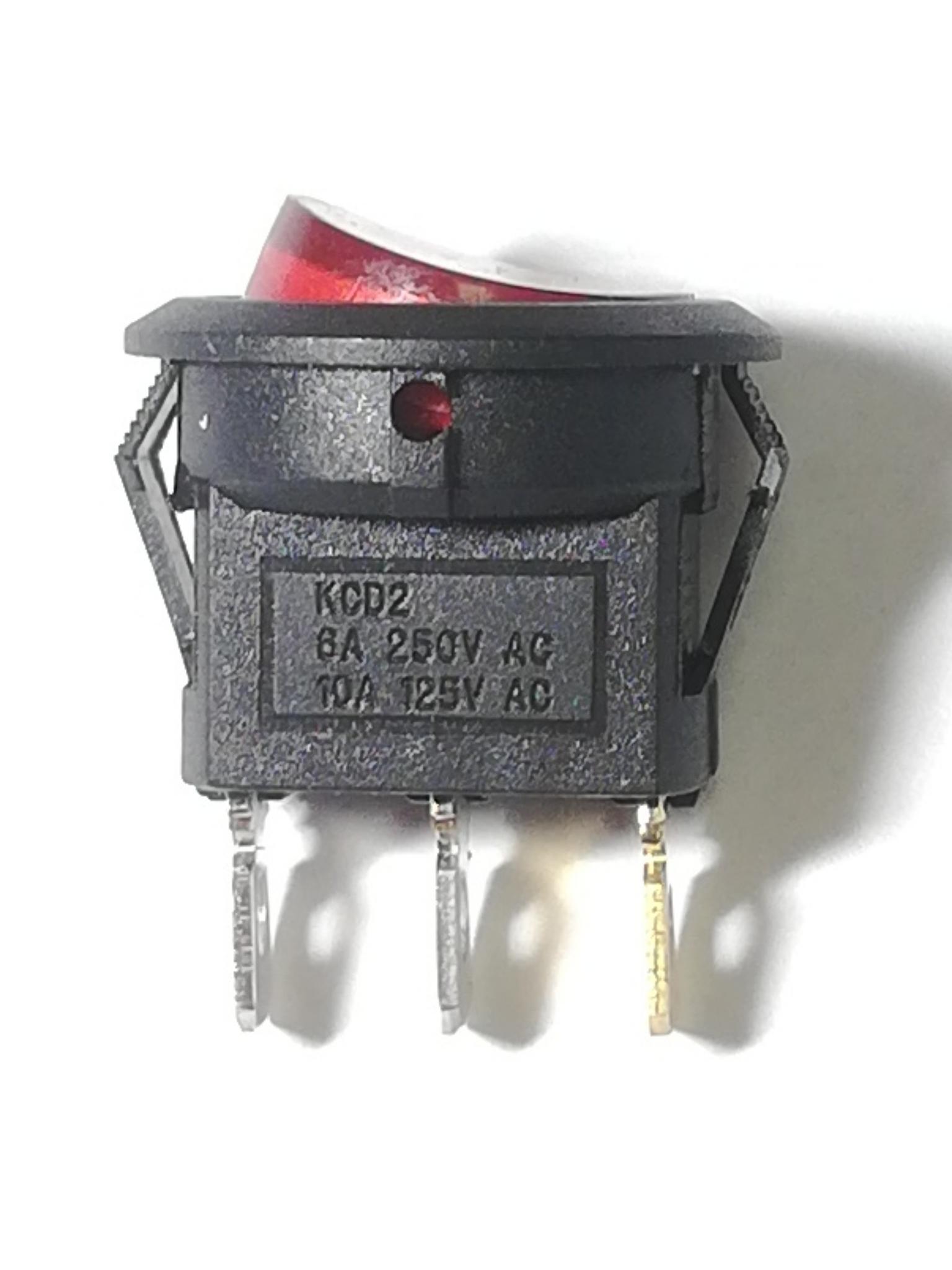 Выключатель трехконтактный KCD-105