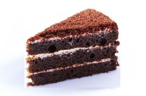 Кусочек вкуснейшего безглютенового черемухового торта
