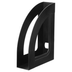 Вертикальный накопитель Attache Economy Респект пластиковый черный ширина 70 мм