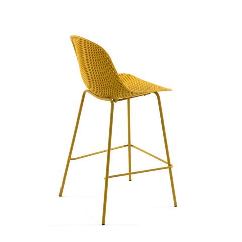 Барный стул Quinby желтый