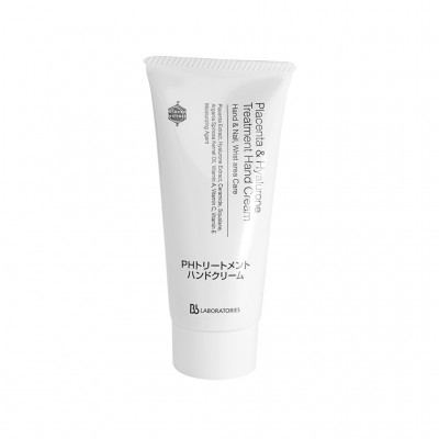 Bb Laboratories Специальный уход: Крем для рук плацентарно-гиалуроновый (Placenta & Hyalurone Treatment Hand Cream), 65г