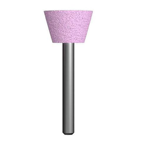 Шарошка абразивная ПРАКТИКА оксид алюминия, трапециевидная 25х16 мм, хвост 6 мм, блистер