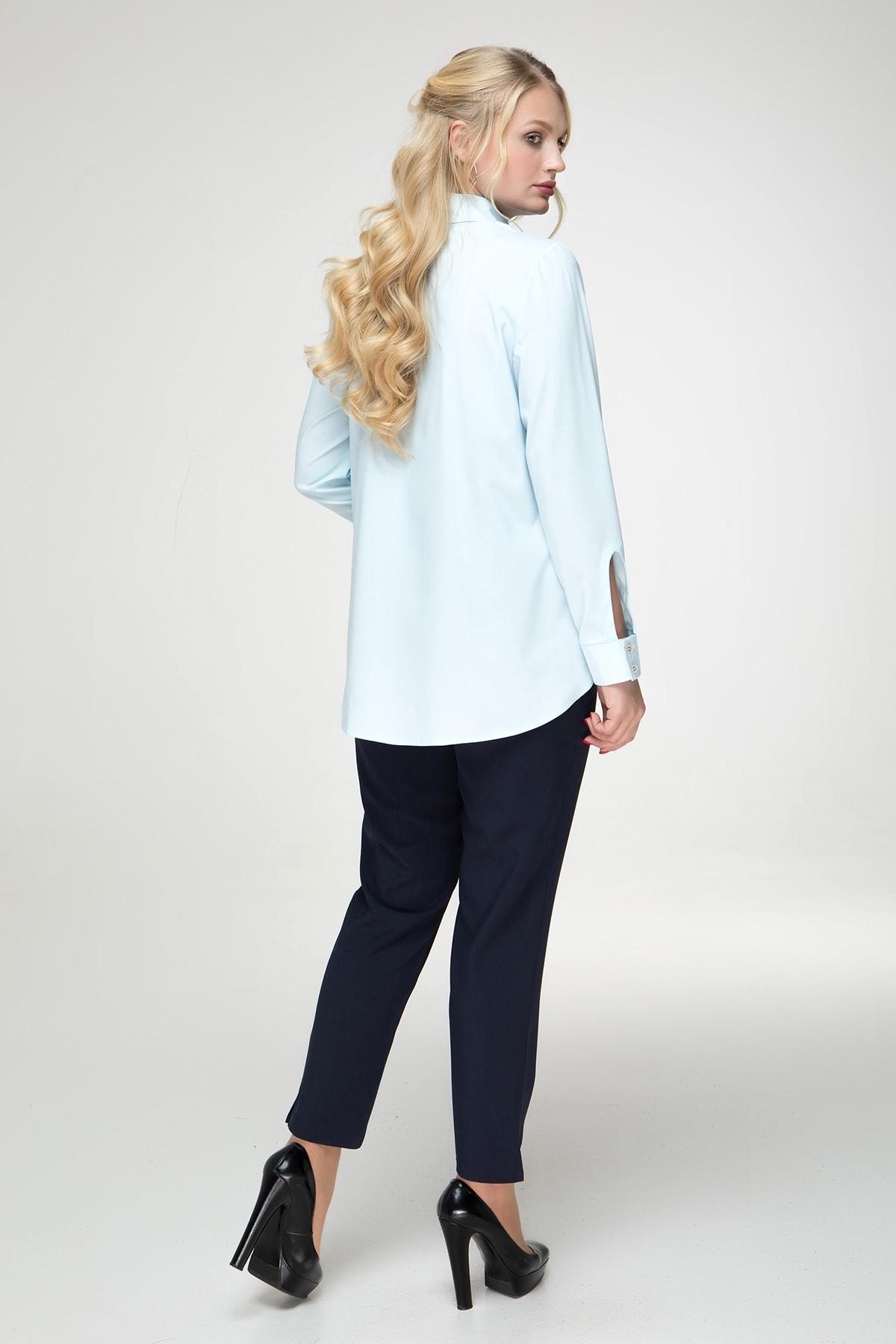 Рубашка Ядвига (голубой)