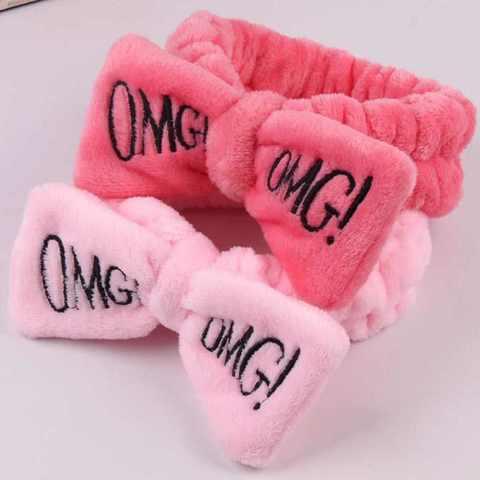 Косметическая повязка OMG!, светло-розовая