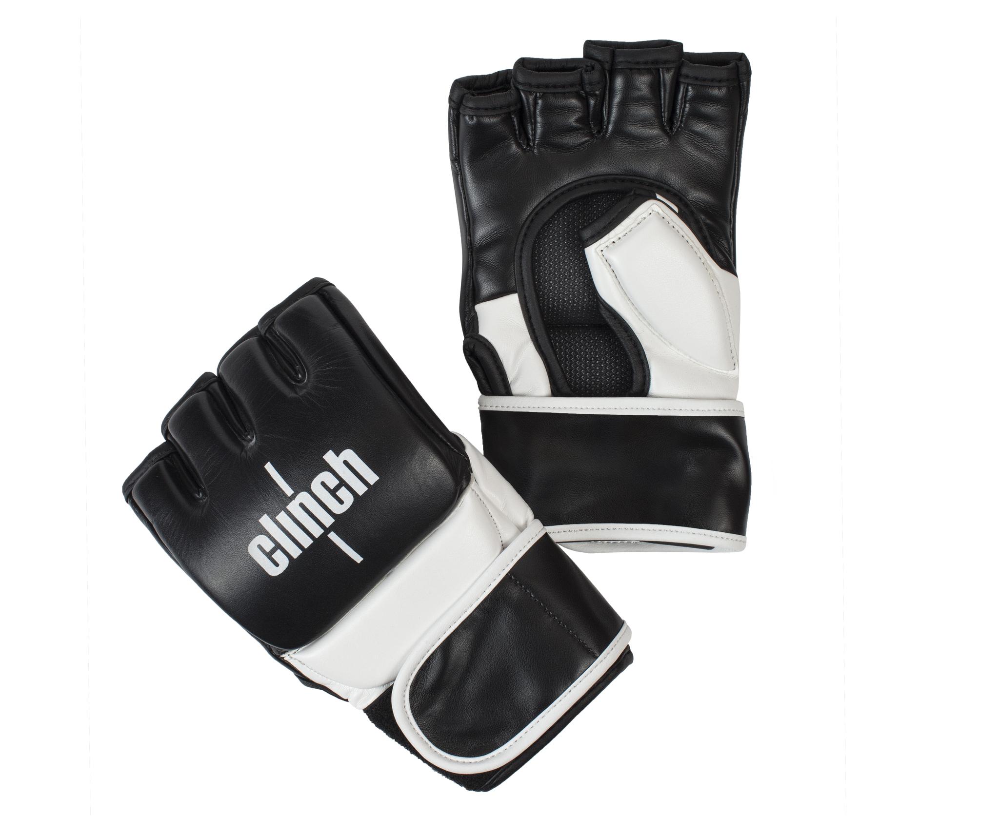 ММА перчатки Перчатки для смешанных единоборств Clinch Combat perchatki_dlya_smeshannykh_edinoborstv_clinch_combat_cherno_belye.jpg