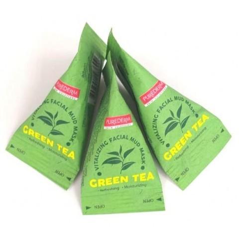 PUREDERM Green Tea Vitalizing Facial Mud Mask