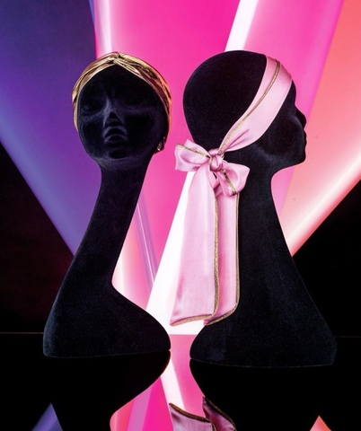 Balmain Платок - шарф цвет золотистый Лимитированная коллекция