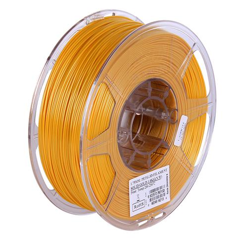 ESUN PETG 1.75 мм 1кг., золотистый