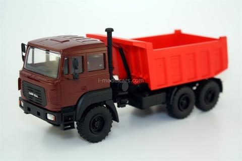 Ural-55571-3121-80 6x6 Ural-M (cab over engine type R) handmade 1:43