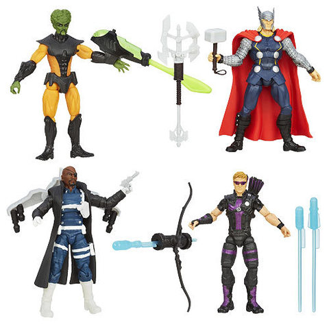 The Avengers Action Figures Series 02