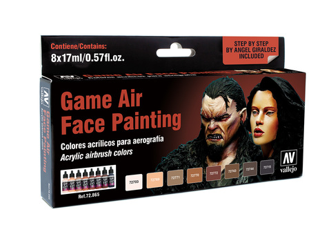Game Air Face Painting (8) by Angel Giraldez 17ml.