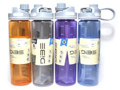 Бутылка для воды. Материал: пластик, силикон. 700ML. DB-1259