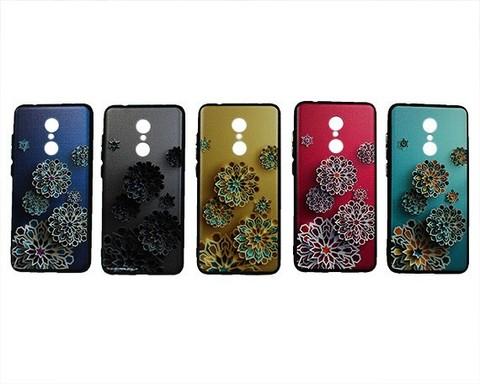 Чехол для Xiaomi Redmi 5 серия Leoleo | астры