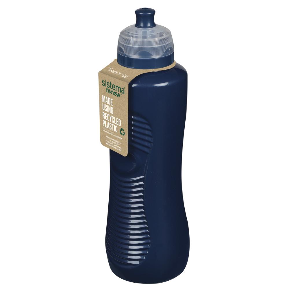 """Бутылка для воды Sistema """"Renew"""" 800 мл, цвет Синий"""