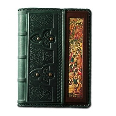 Ежедневник кожаный в стиле 19 века модель 46