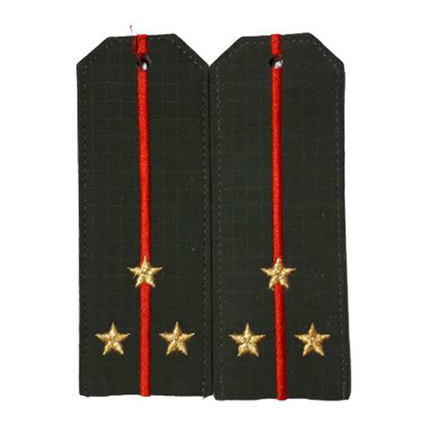 Погоны старший лейтенант с вышит. звездами (рип-стоп)