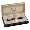 Parker Duofold - Black PT International, перьевая ручка, F