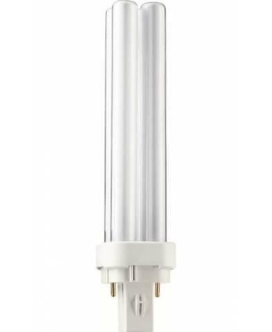 Энергосберегающая (люминесцентная) лампа PL-C 26/840 Philips G24d-3 26W (Вт) 4000K 1800lm 220V