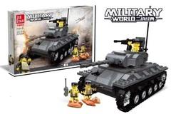 Конструктор серия Военный мир Американский Танк M24 Чаффи