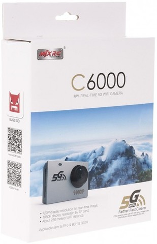 Камера MJX C6000 1080P Wi-Fi 5G для квадрокоптера MJX B3H, B10H, B3PRO