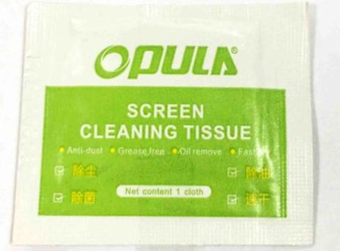 OPULA влажная салфетка в упаковке 1 шт, для монито