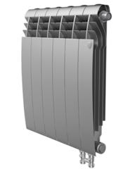 Радиатор Royal Thermo BiLiner 350 V Silver Satin - 10 секций