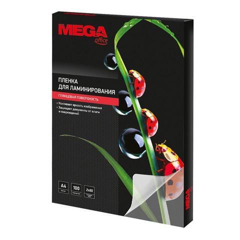 Пленка для ламинирования Promega office 303x216 мм (А4) 80 мкм глянцевая (100 штук в упаковке)